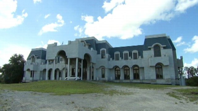 "VIDEO: After a four-year hiatus, a Florida billionaire and his wife are completing their own ""Versailles."""