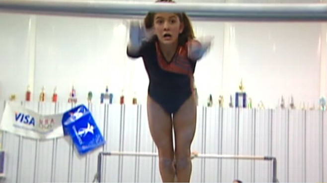 Video: Blind gymnast, Lola Walters.