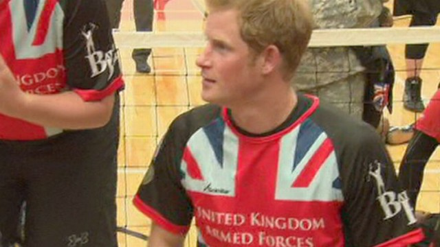 Video: Prince Harry Hits Pub After Warrior Games Participation