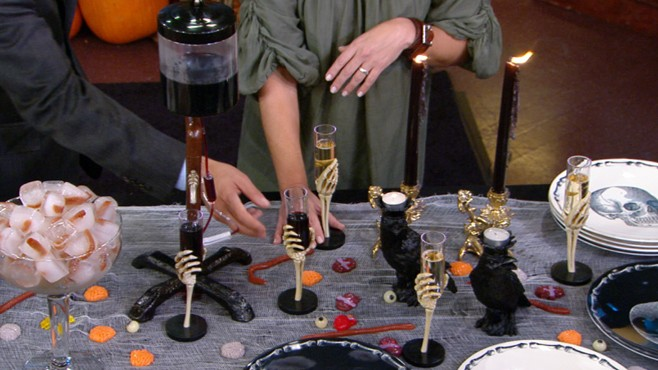 VIDEO: Sarah Gray Miller shows you how to make your home Halloween ready.
