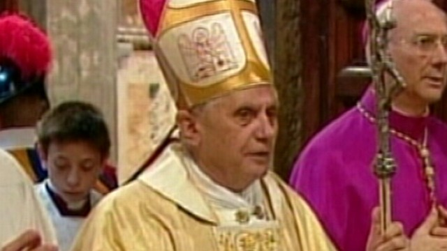 VIDEO: Pope Benedict XVI Resignation: Inside The Conclave