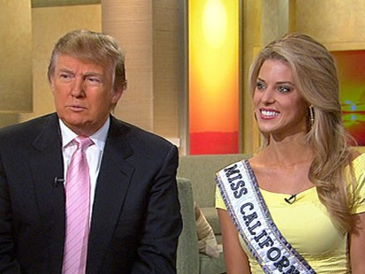 Donald Trump Lets Miss California Keep Crown