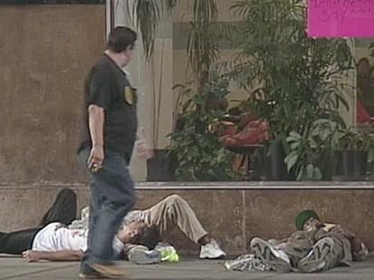 VIDEO: Sending the Homeless Away