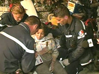 VIDEO: Miraculous stories of survival as the window to rescue victims narrows.