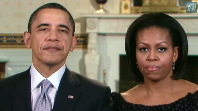VIDEO: President and First Lady hold conference on anti-gay bullying.