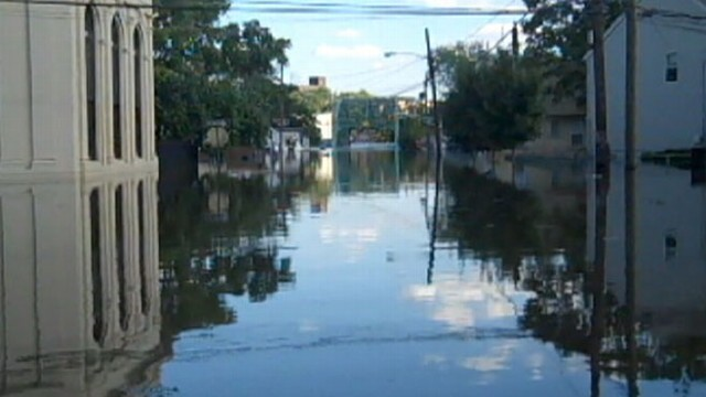 VIDEO: Many in New Jersey, Vermont struggle with record flooding from swollen rivers.