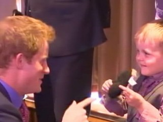 Watch: Prince Harry's First Public Appearance Since Vegas Party