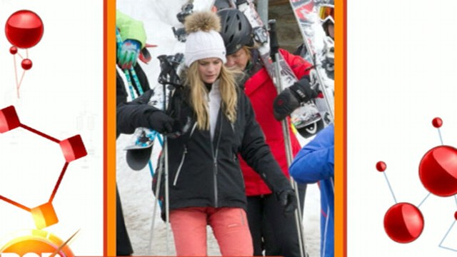 VIDEO: Prince Harry Goes Skiing with Model