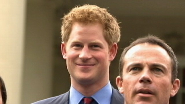 Video: Prince Harrys Rock Star Reception on Capitol Hill
