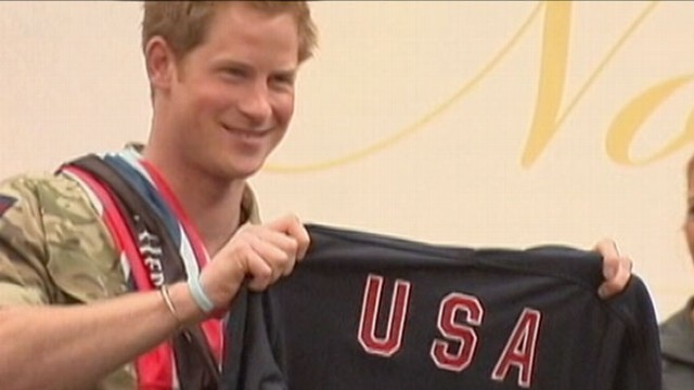 VIDEO: His royal highness is the ultimate ambassador for his grandmother while visiting the U.S.