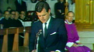 VIDEO: The Kennedy family gathers in Hyannis Port to remember their beloved uncle.