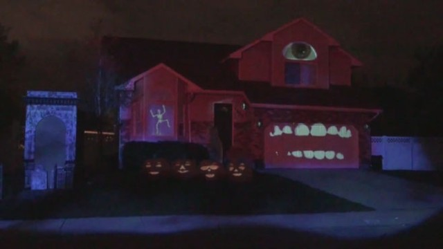 Learn How To Create Your Own Haunted House Projection