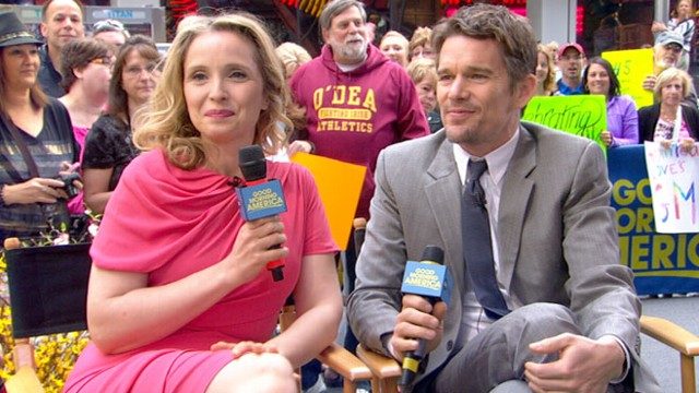 Video: Ethan Hawke, Julie Delpy on Romance Trilogys Final Chapter