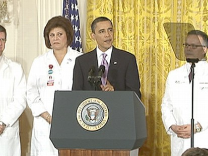 VIDEO: President Obama calls for up or down vote on health care reform.