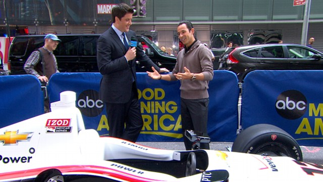 Video: 3-Time Indy 500 Champ Readies for 2013 Race