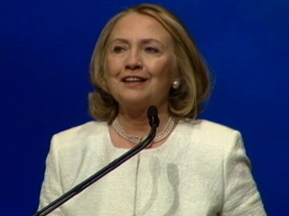 Watch: Hillary Clinton Appearance Sparks Presidential Rumors