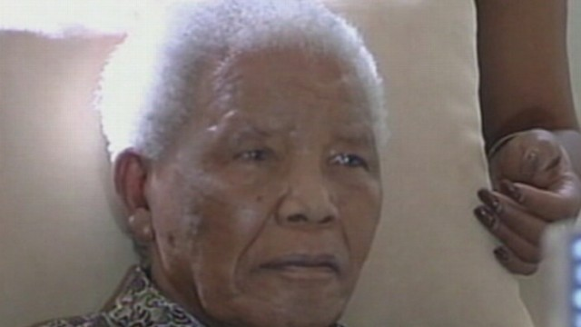 Video: Nelson Mandela Reportedly in Intensive Care