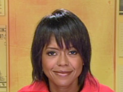 A picture of Mellody Hobson on GMA.
