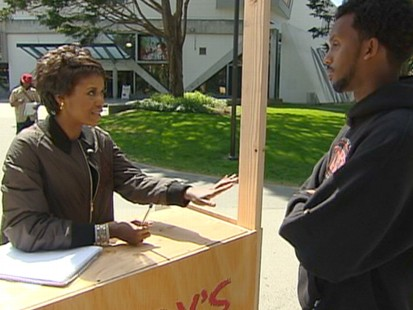 VIDEO: Mellody Hobson answers students questions about college loans and debt.