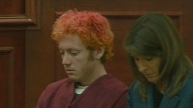 VIDEO: The alleged gunman potentially faces hundreds of charges for the movie