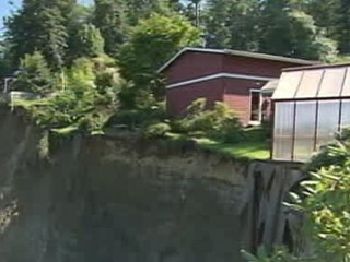 Watch: House Poised to Fall Off 200-Foot Cliff