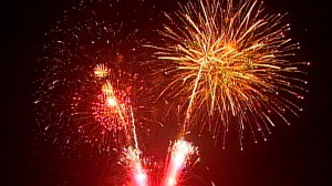 VIDEO: Towns scale back their fireworks due to recession.