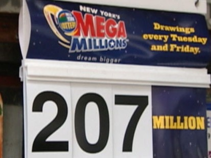 VIDEO: Lottery sales booming as people take their chances in hope of winning big.