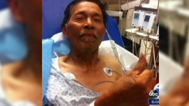 VIDEO: Hunter Found Alive After 19 Days