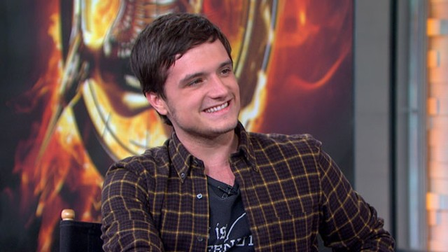 "VIDEO: The actor talks about his favorite part of playing Peeta Mellark in the ""Hunger Games"" sequel."