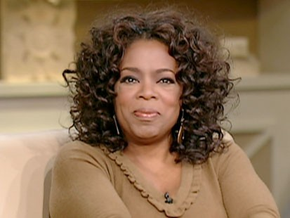 A picture of Oprah Winfrey.