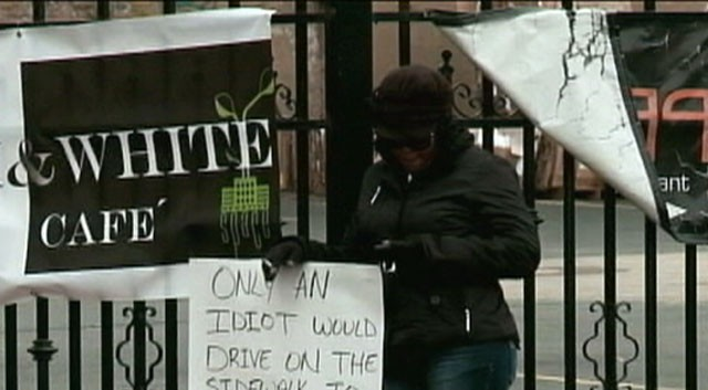 VIDEO:Cleveland judge will personally supervise woman who drove on sidewalk to pass schoolbus.