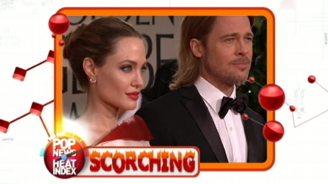 VIDEO: Brangelina Wedding Rumors on Pop News Heat Index