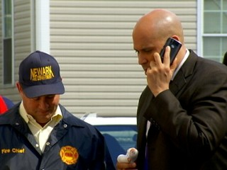 Watch: Cory Booker Helps Out Superstorm Victims