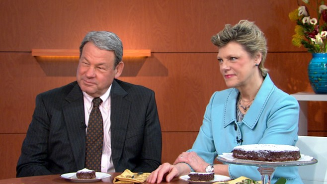 "VIDEO: Cokie and Steve Roberts' book, ""Our Haggadah,"" offers tips for tense moments."