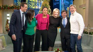 VIDEO: Diane Sawyer and Chris Cuomo introduce the new team members to the anchor desk.