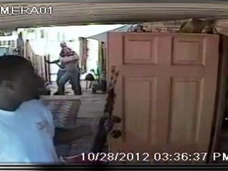 Watch: Violent Home Invasion Caught on Video: Police Hunt Two Suspects