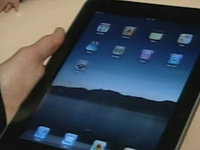 VIDEO: The iPad Makes it's Debut