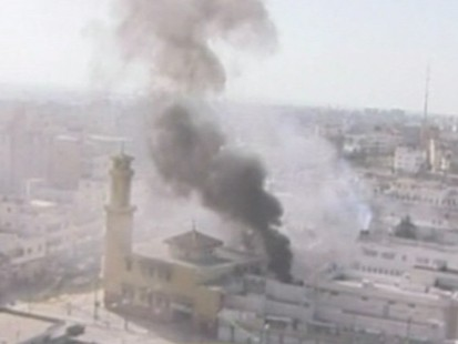 Attack Continue in Gaza Strip.