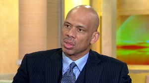 VIDEO: Basketball legend Kareem Adul-Jabbar talks about his battle with cancer.