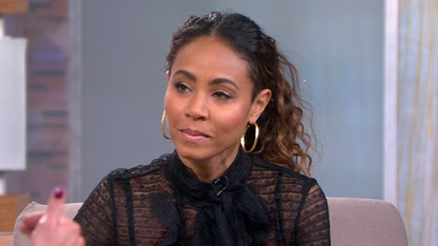 "VIDEO: Jada Pinkett Smith discusses the imprisonment of Angela Davis in ""GMA interview."