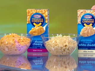 Watch: Kraft Mac and Cheese: Bloggers Want Food Dye Removed