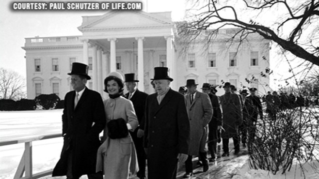 VIDEO: LIFE.com reopens archives of President John F. Kennedy's inaugural address.
