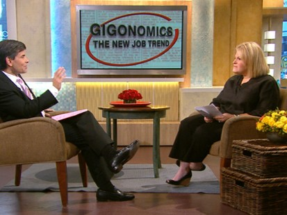 VIDEO: Tory Johnson discusses the new part-time employment trend.