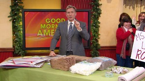 VIDEO: Sam Champion offers tips on using recycled goods to pack breakables.