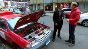 VIDEO: James Boncek explains how he replaced his car engine with a greener one.