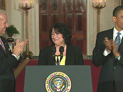 VIDEO: Sonia Sotomayors nomination to the Supreme Court outrages conservatives.