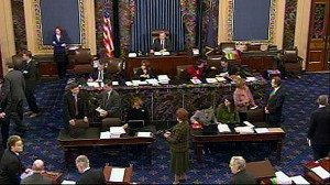 VIDEO: Senate Finally Votes on Health Care Bill