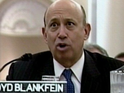 VIDEO: Goldman Face-Off on the Hill