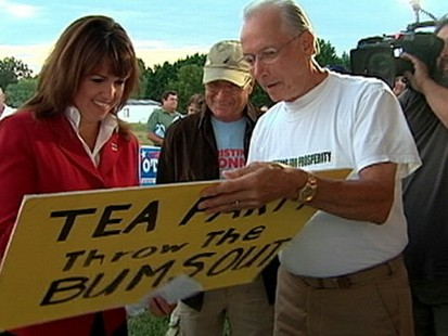 VIDEO: Big Test for Tea Party
