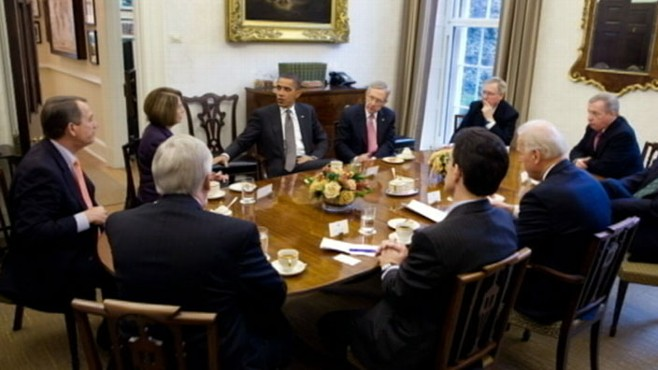 VIDEO: The president holds a bipartisan summit on taxes, benefits and more.